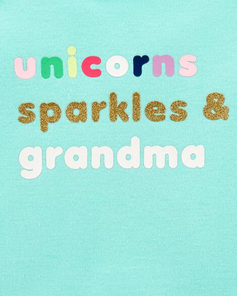 Unicorns Sparkles & Grandma Collectible Bodysuit