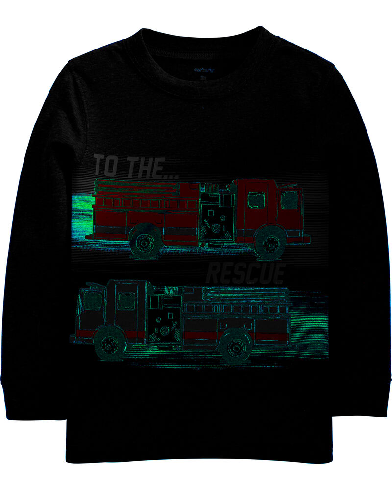 Firetruck Snow Yarn Tee, , hi-res