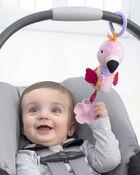 Bandana Buddies Chime & Teethe Toy - Flamingo, , hi-res
