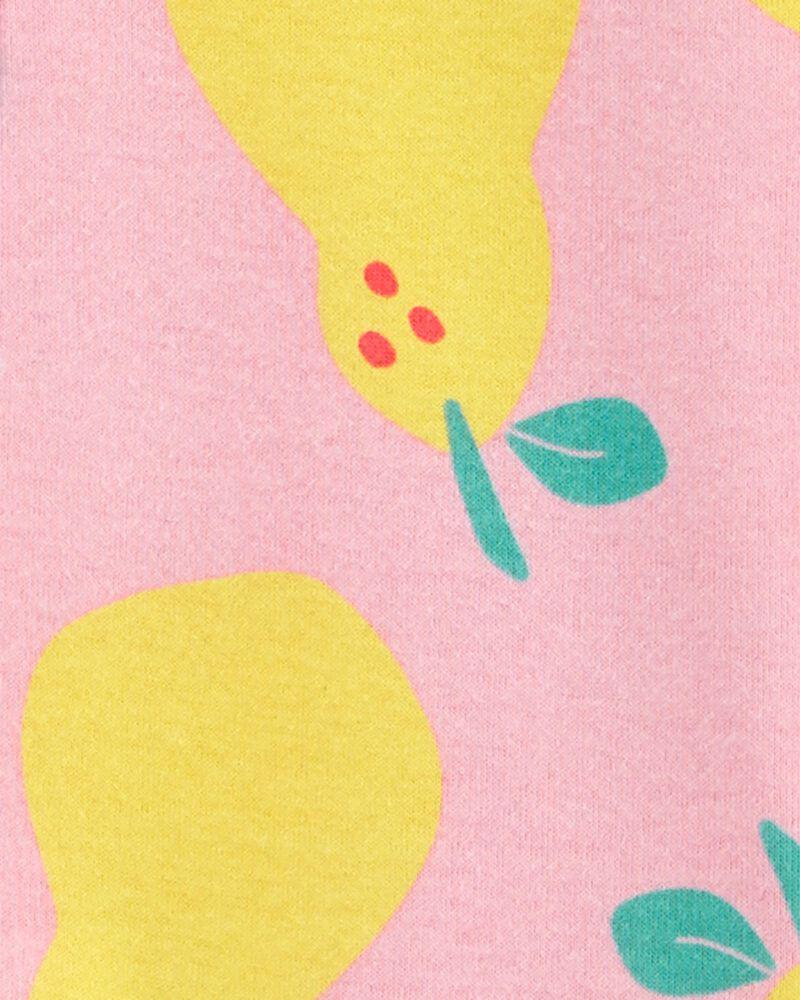 1-Piece Pear 100% Snug Fit Cotton Footie PJs, , hi-res