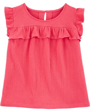 Crinkle Jersey Top