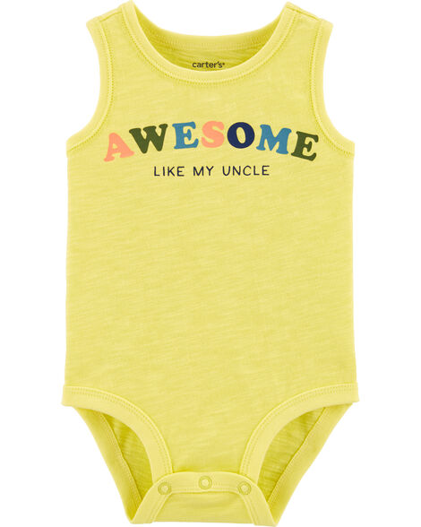 Awesome Like My Uncle Tank Bodysuit