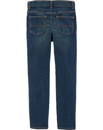 Jeans droit (coupe étroite) - délav...