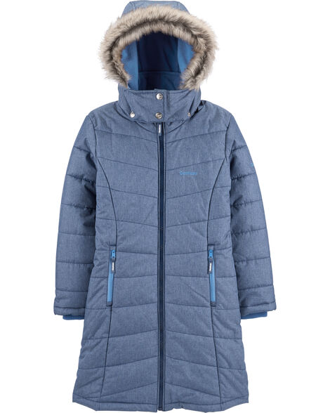 Fleece-Lined Heavyweight Hooded Coat