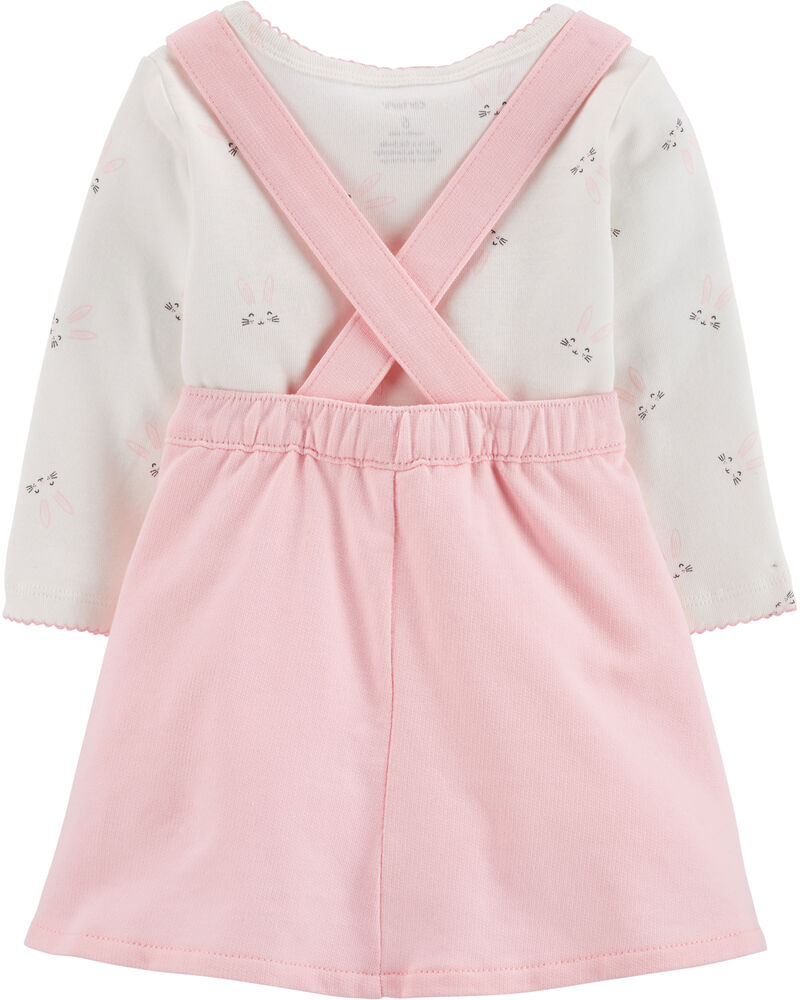 2-Piece Easter Bunny Bodysuit & Skirtall Set, , hi-res