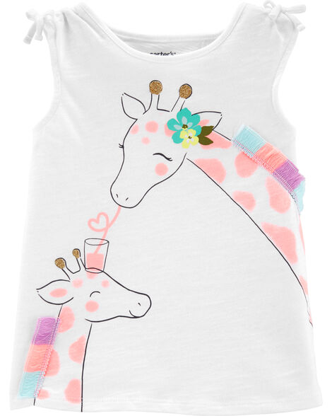 Giraffe Cross-Back Tank