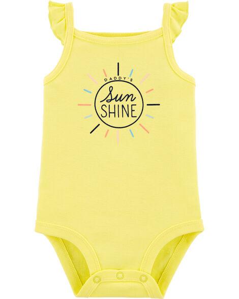 Daddy's Sunshine Flutter Bodysuit