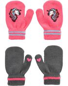 Kombi 2-Pack Unicorn Gripper Mitts, , hi-res