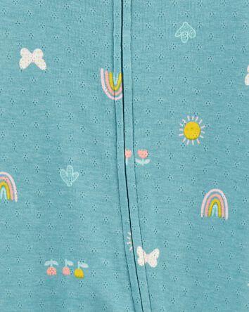 Butterfly 2-Way Zip Cotton Sleep &...