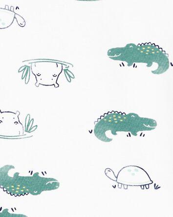 2-Piece Animals 100% Snug Fit Cotto...