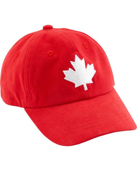 Casquette de baseball feuille d'érable Fête du Canada