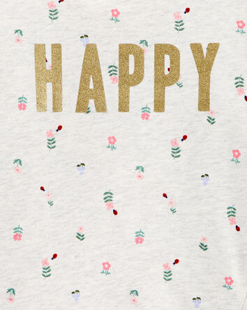 2-Piece Happy French Terry Top & Fl...