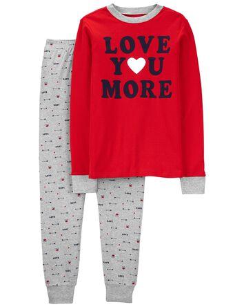 Pyjama unisexe 2 pièces en coton aj...