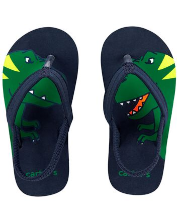Sandales de plage à motif de dinosa...