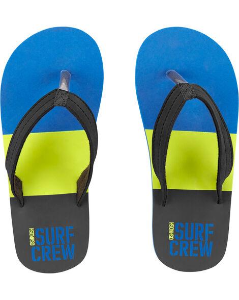 Sandales de plage équipe du surf