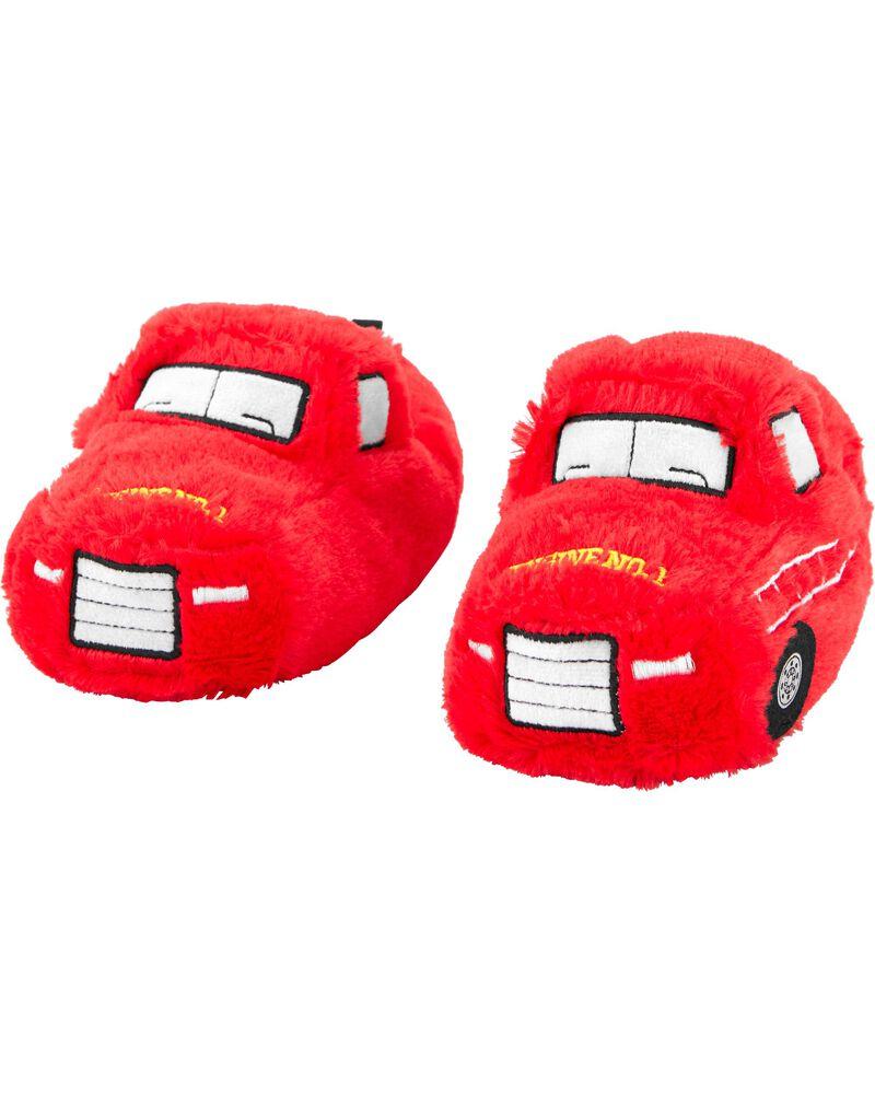Pantoufles camion d'incendie, , hi-res