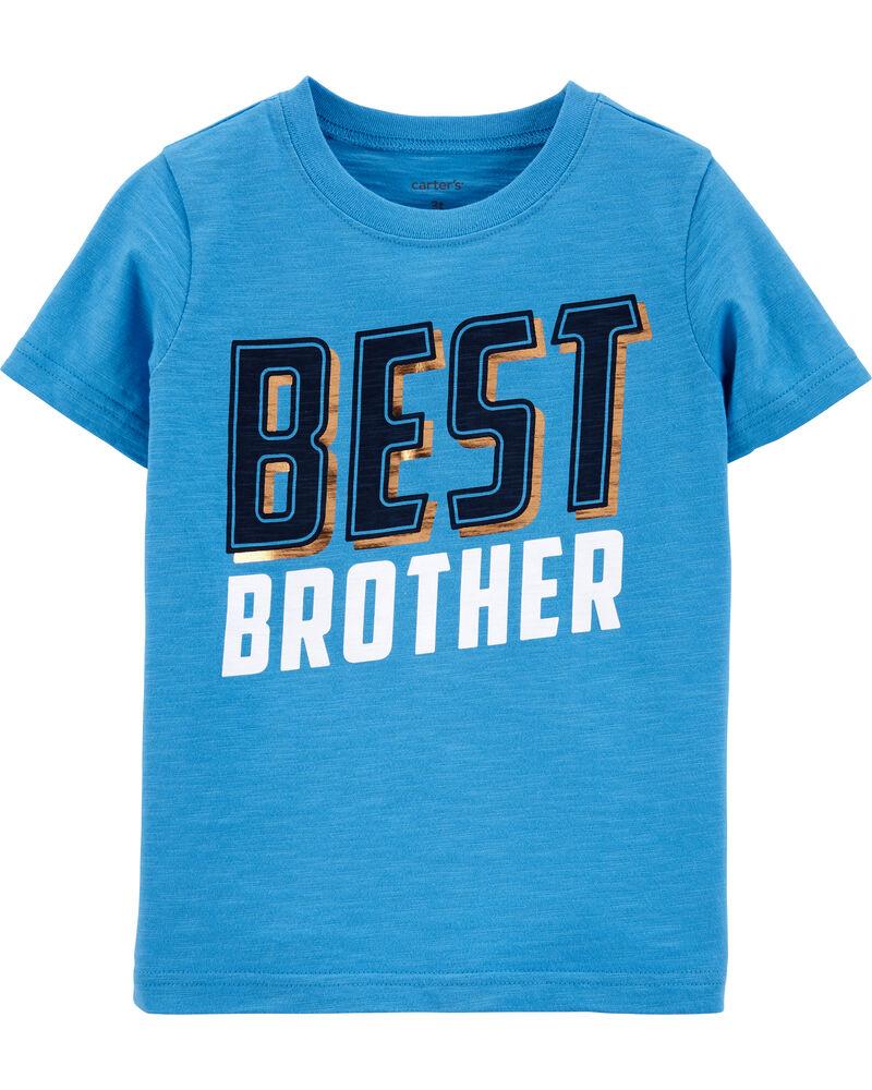 T-shirt en jersey Best Brother, , hi-res