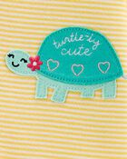 1-Piece Turtle 100% Snug Fit Cotton Footless PJs, , hi-res