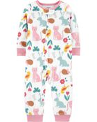 1-Piece Animals Fleece Footless PJs, , hi-res