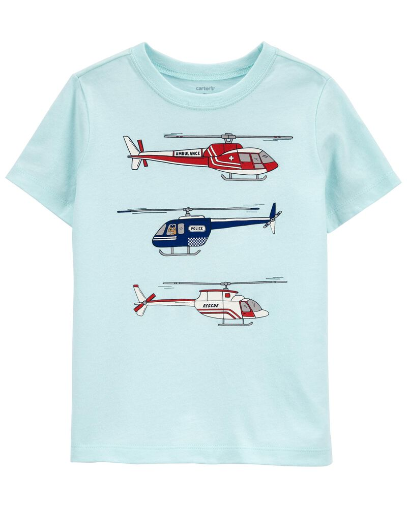 Helicopter Jersey Tee, , hi-res