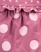 3-Piece Polka Dot Little Short Set, , hi-res