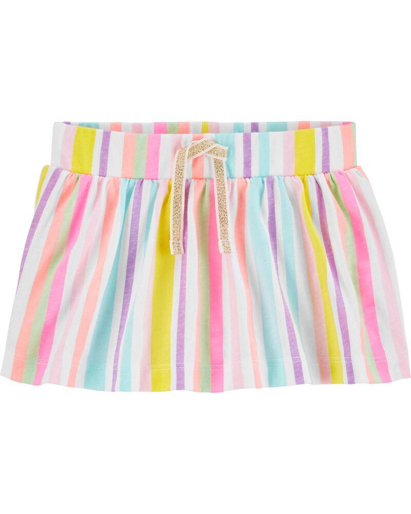Rainbow Stripe Scooter Skirt, , hi-res