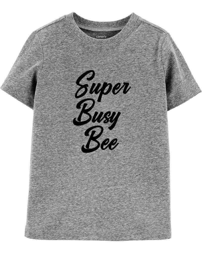 T-shirt en jersey Super Busy Bee , , hi-res
