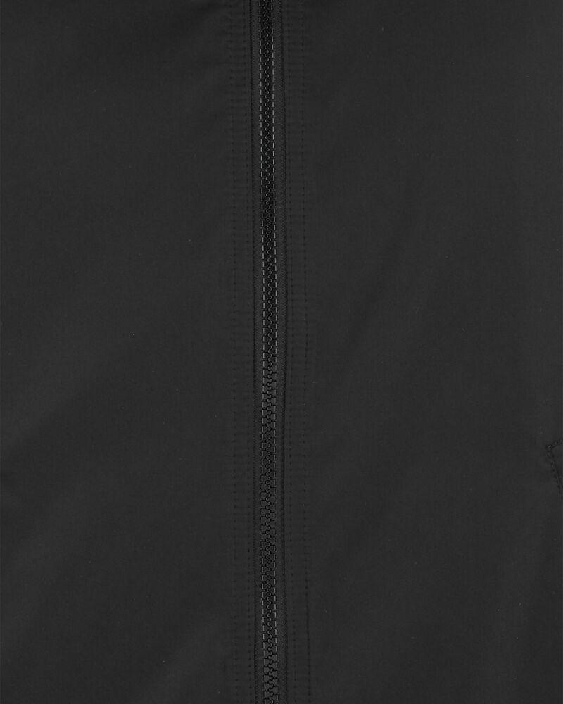 Colourblock Fleece-Lined Midweight Jacket, , hi-res