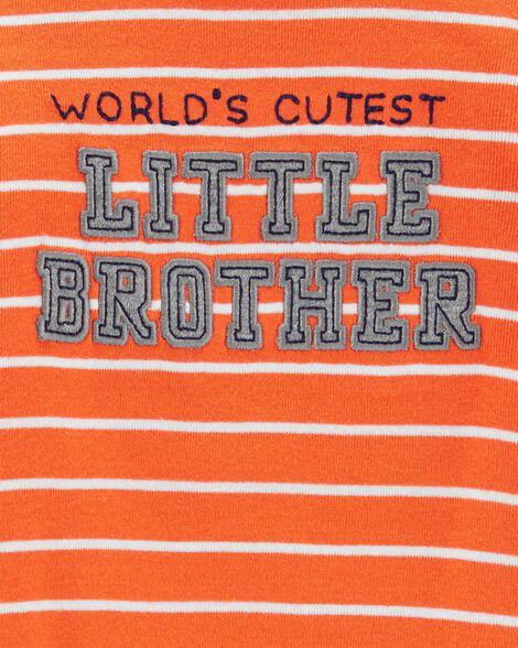 Ensemble 2 pièces cache-couche Little Brother et pantalon