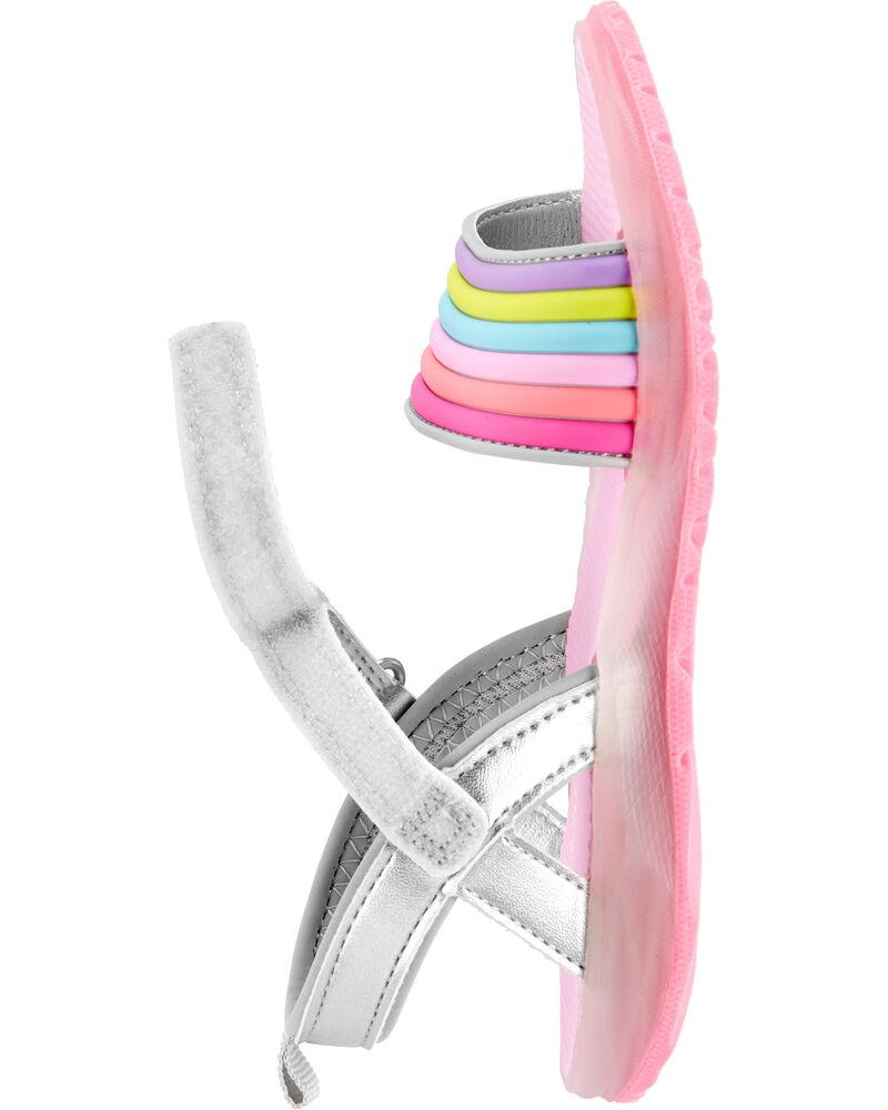 Rainbow Light-Up Sandals, , hi-res