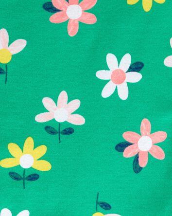 4-Piece Floral 100% Snug Fit Cotton...