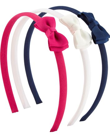 3-Pack Bow Headbands