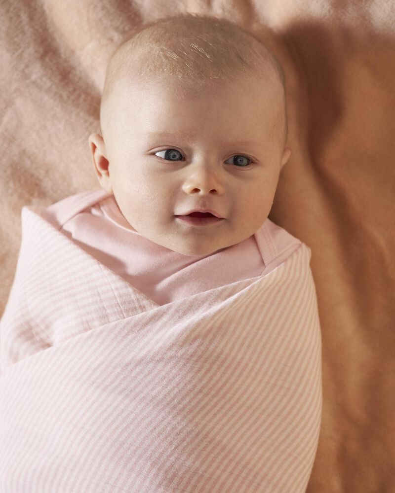 2-Pack Organic Cotton Muslin Swaddle Blankets, , hi-res