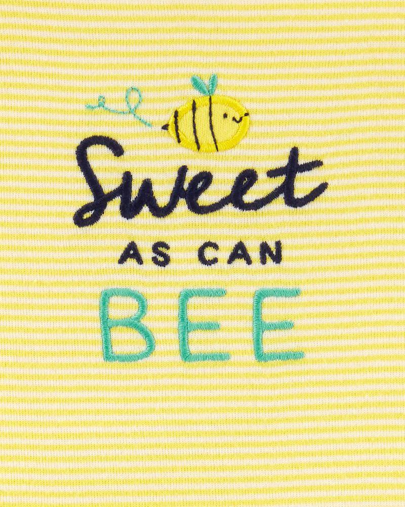 2-Piece Bee Bodysuit & Short Set, , hi-res