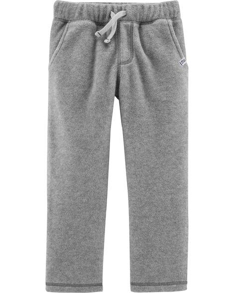 Pantalon à enfiler en micromolleton