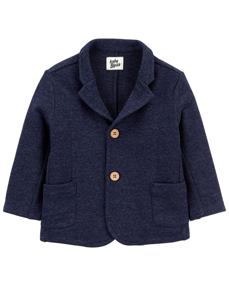 Terry Knit Blazer, , hi-res