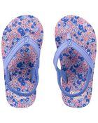 Floral Flip Flops, , hi-res