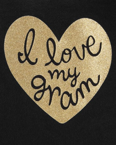 Cache-couche à collectionner j'adore grand-maman