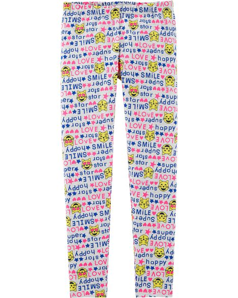 Cat Emoji Leggings