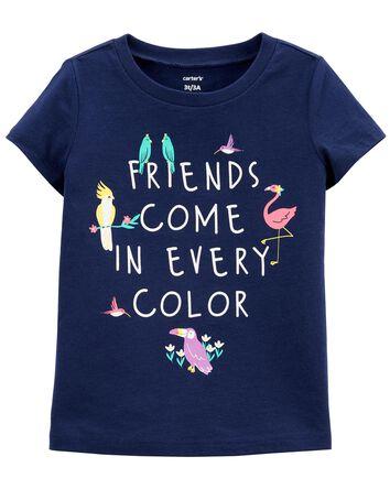 T-shirt en jersey Friends In Every...