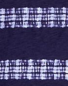 T-shirt à poche teint sur nœuds, , hi-res