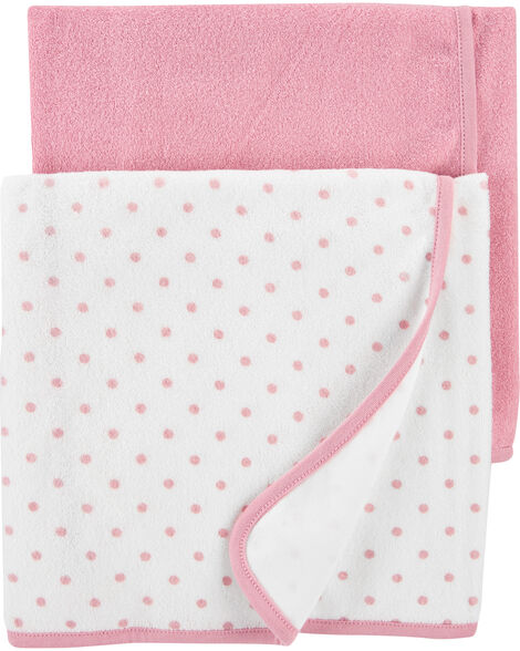 Emballage de 2 serviettes pour  bébé