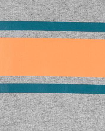 T-shirt en jersey aux couleurs cont...