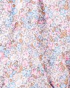Floral Pintuck Poplin Bodysuit, , hi-res