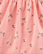Ensemble 2 pièces robe cache-couche et cardigan à fleurs, , hi-res