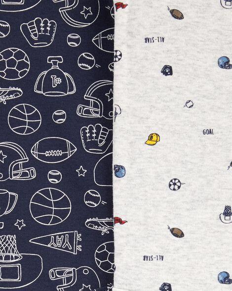 Emballage de 5 cache-couches originaux à motifs sport