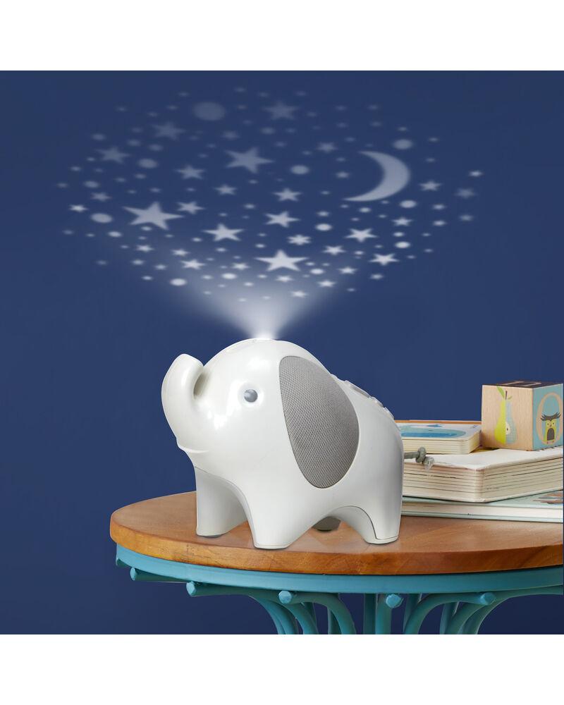 Moonlight & Melodies Nightlight Soother Elephant, , hi-res