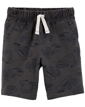 Car Pull-On French Terry Shorts