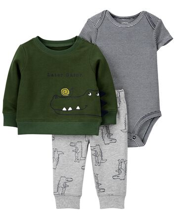 3-Piece Little Cardigan Set