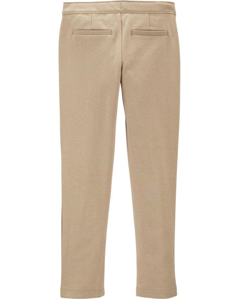 Pantalon d'uniforme scolaire en ponte , , hi-res